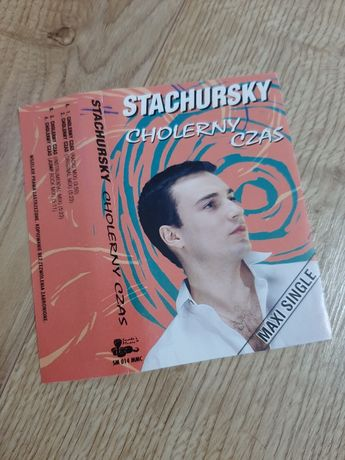 Stachursky Cholerny czas Maxi Single okładka kasety magnetofonowej