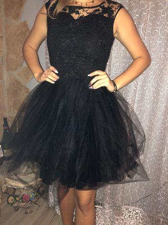 Czarna sukienka na wesele itp