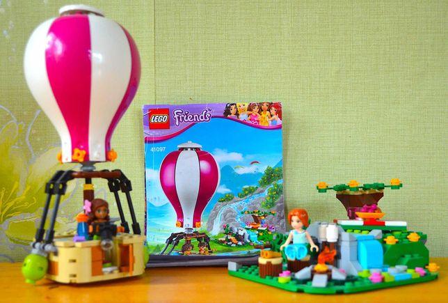Лего Lego Friends 41097 Полет на воздушном шаре Воздушный шар, оригин