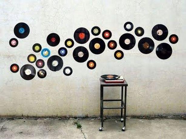 Płyty winylowe do dekoracji - okazja - hit, Vintage, retro, winyl