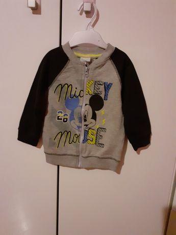 Bluza Mickey, miki jak nowa rozm. 86