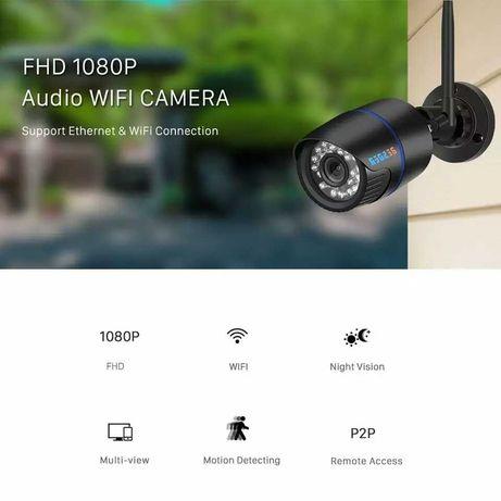 Wifi камера Besder 1080P, IP видеонаблюдение FullHD 2Mp, регистратор