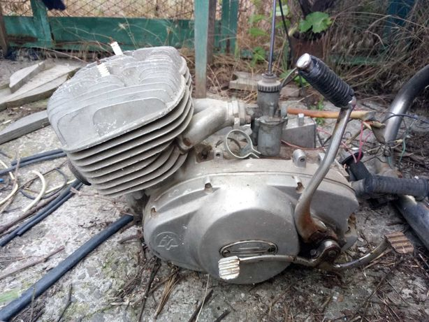 Запчасти мотор мотоцыкл иж 5