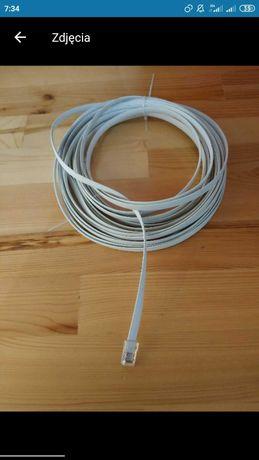 Kabel,przewód telefoniczny RJ 11, Wtyk 6P4C/RJ11.