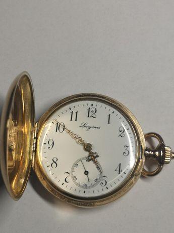 zegarek Longines,1900r Paris,złoty 14k,antyk,stary zegarek