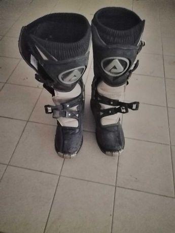 Botas para andar de mota, como novas