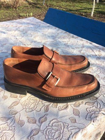 Шкіряні туфлі весна/осінь