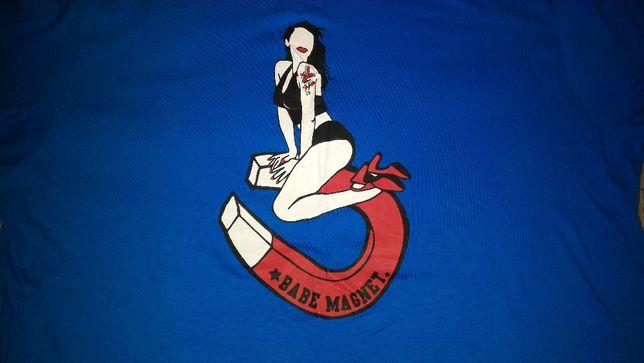 T-shirt, koszulka - Babe Magnet - Magnes na babki - rozmiar XL