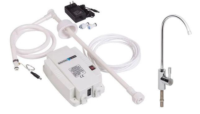 Электрическая помпа под кран питьевой воды Готовое решение для дома !