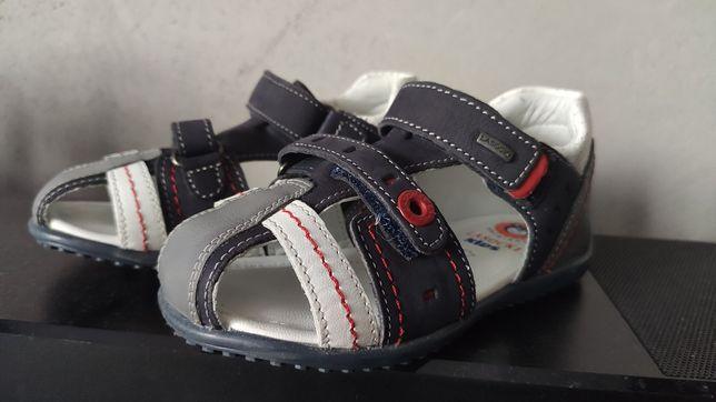 Sandały sandałki Lasocki skórzane nowe r.24