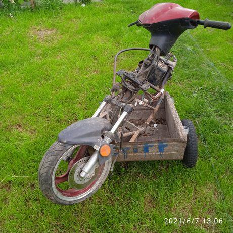 Продам останки скутера