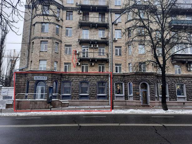 Аренда 1-й этаж фасад 233м2 Грушевского 34/1, Институтская,Шелковичная