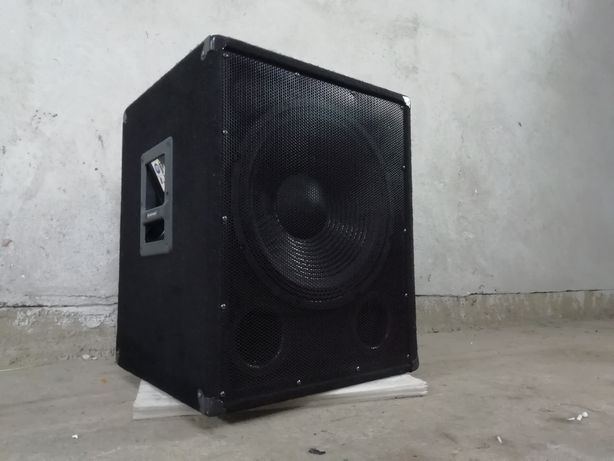 Skrzynia Omnitronic BX-1550 Subwoofer pasywny PA 38 cm 15 cal 400 Rms