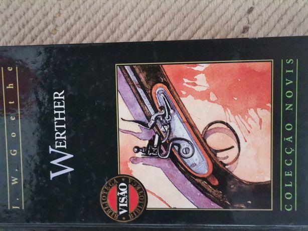 Livro werther.. Coleção Novis