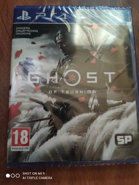 Ghost of tsushima PL PS4 PS5 HIT Nowa w folii