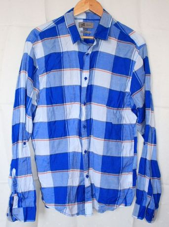 Koszula męska Reserved niebieska XXL
