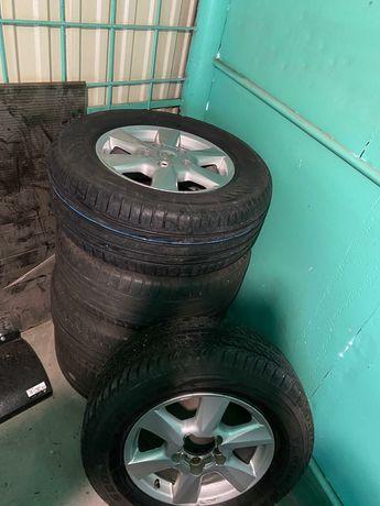 Гума+диски Оригінал 5шт Lexus Nokian BLUE 2 SUV 285/60R18