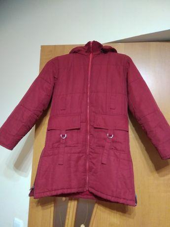 Зимова куртка пальто для дівчинки