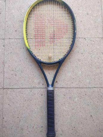 Raquete tenis e squash