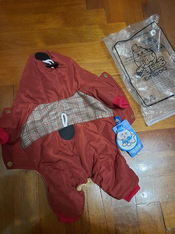 Курточка для собаки весом до 2 кг новая