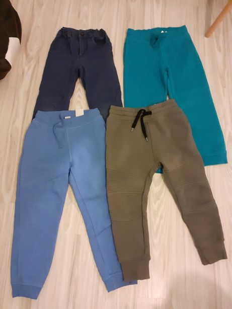 Spodnie roz 110