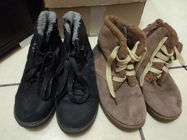 Ботинки чобітки нубук