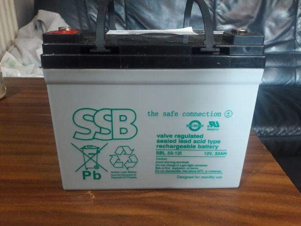 Akumulator SSB żel ups alarm SBL 33-12i 12V 33Ah