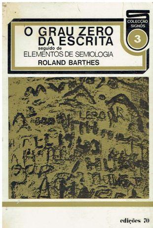 7549 O Grau Zero da Escrita de Roland Barthes