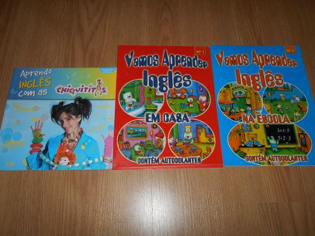 Livros de atividades Inglês