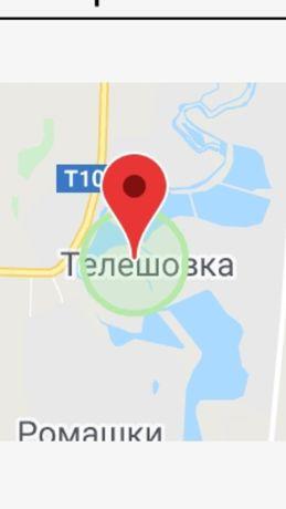 Продам земельный участок Телешовка