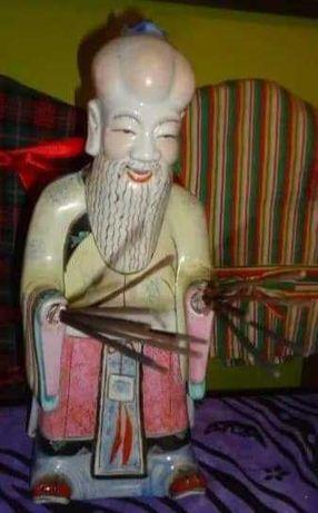 Estatueta Antiga Origem Macau