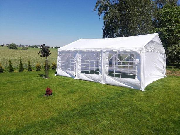 Wynajem namiotu imprezowego ogrodowego 6x5m ŁAWKI chrzciny komunia ur