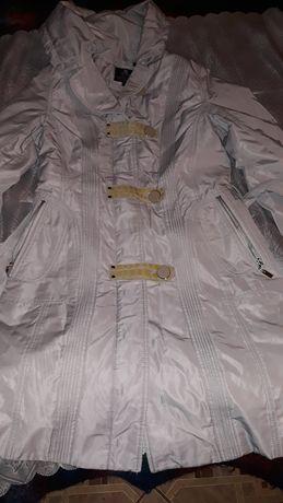 Курточка женская с подкладкой из натурального меха