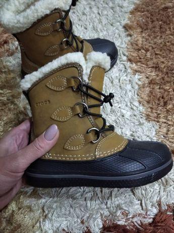 Зимние сапоги (ботинки) Crocs AllCast II Pull-On Boot (новые, оригина