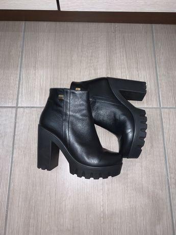Ботинки/ ботинки кожа/ ботинки осень/ ботинки женские/ ботильоны