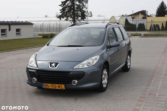 Peugeot 307 Opłacony Serwis Bezwypodkowy Świetny Stan 1.6 109 Klimatyzacja