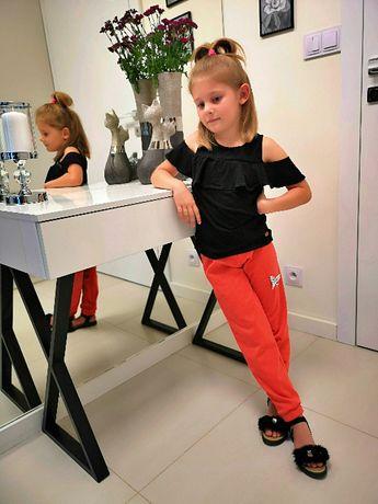 Spodnie wygodne czerwone -eVa design-