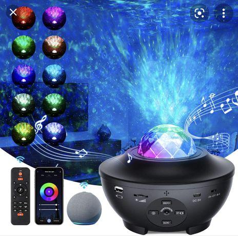Smart Wifi Music Star Light Projector - 45€