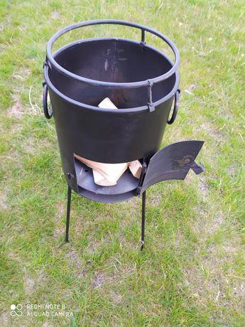 Печь под казан,сковородку.очаг.топка.печка.кухня полевая.буржуйка