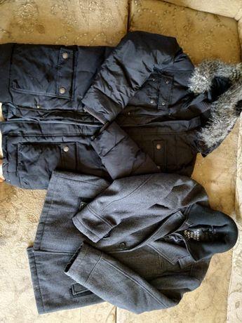 Mega ciepła puchowa długa kurtka Mexx, płaszczyk