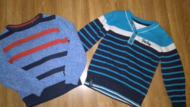 Продам два свитерка на мальчика 3лет котон