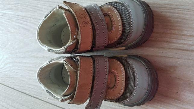 Buty buciki Bartek rozm 20 skóra jesień pólbuty