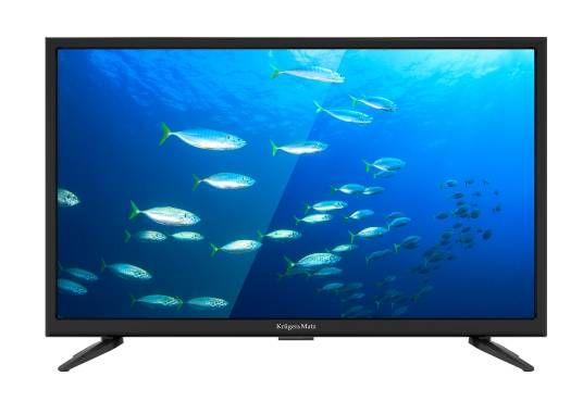 "Telewizor Kruger&Matz 22"" FHD DVB-T2 H.265 zasilanie 230V/12V 419zł"