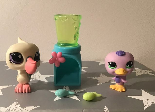 Littles Pet Shop pelikan i kaczuszka