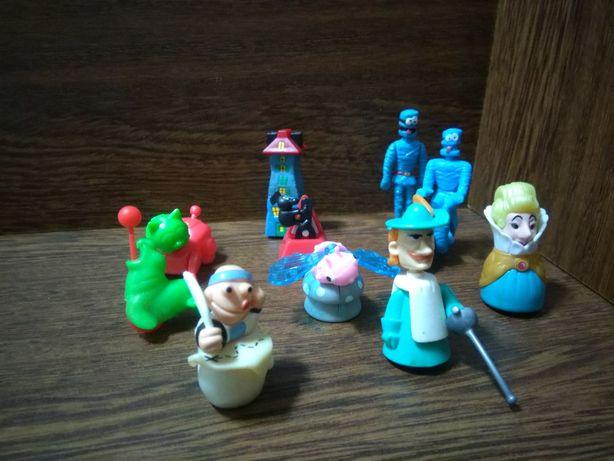 Bonecos Miniaturas de Desenhos Animados e Coleções