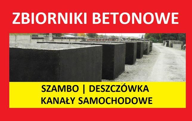zbiorniki betonowe na deszczówkę betonowy szambo szamba 4,6,8,10,12m3