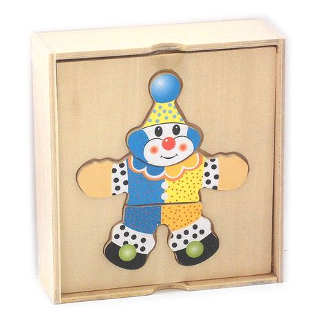"Рамка-вкладыш ""Клоун в коробке"""