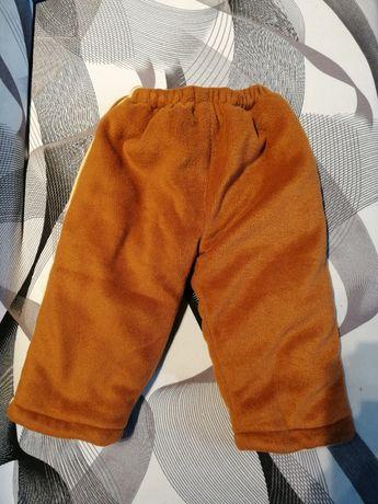 Spodnie zimowe grube 86