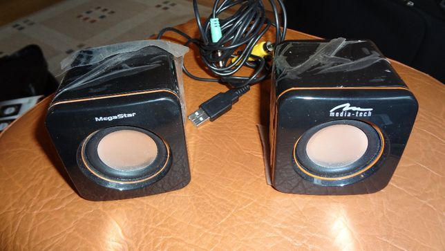 Głośniki Stereo USB Media Tech CUBE MT3120