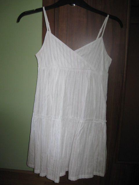 biała sukienka ZARA KIDS Wołów - image 1